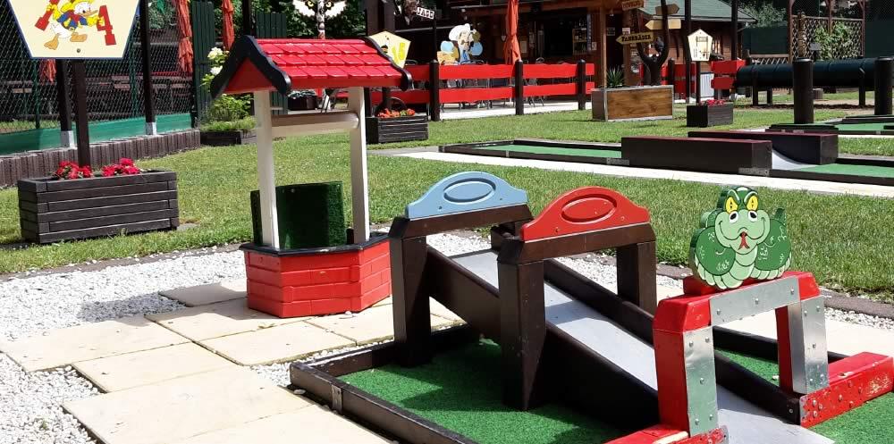 Minigolf Hindernisse vorgestellt