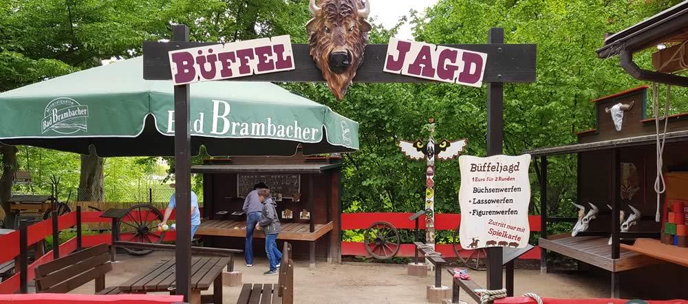 Büffeljagd in Gera