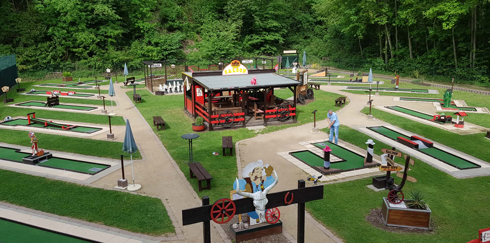 Minigolf Ranch dein Freizeitspass